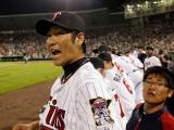 Boston Red Sox v Minnesota Twins, FORT MYERS, FL - FEBRUARY 27: Tsuyoshi Nishioka Photographic Print by J. Meric