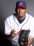 Cleveland Indians Photo Day, GOODYEAR, AZ - FEBRUARY 22: Fausto Carmona Photographic Print by Rob Tringali