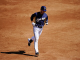 Colorado Rockies v Milwaukee Brewers, PHOENIX, AZ - MARCH 10: Ryan Braun Photographic Print by Kevork Djansezian