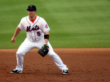 St. Louis Cardinals v New York Mets, PORT ST. LUCIE, FL - MARCH 03: David Wright Photographic Print by Marc Serota
