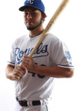 Kansas City Royals Photo Day, SURPRISE, AZ - FEBRUARY 23: Eric Hosmer Photographie par Jonathan Ferrey