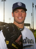 San Diego Padres Photo Day, PEORIA, AZ - FEBRUARY 23: Clayton Richard Photographic Print by Rob Tringali