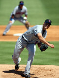 New York Mets v Florida Marlins, JUPITER, FL - MARCH 04: Chris Young Photographic Print by Marc Serota
