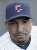 Chicago Cubs Photo Day, MESA, AZ - FEBRUARY 22: Carlos Zambrano Photographic Print by Ezra Shaw