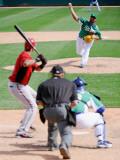Chicago White Sox v Milwaukee Brewers, GLENDALE, AZ - MARCH 17: Jonathan Broxton Photographic Print by Kevork Djansezian