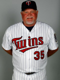 Minnesota Twins Photo Day, FORT MYERS, FL - FEBRUARY 25: Ron Gardenhire Photographic Print by J. Meric
