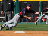 Cleveland Indians v Cincinnati Reds, GOODYEAR, AZ - FEBRUARY 28: Adam Everett Photographic Print by Norm Hall