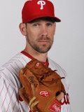 Philadelphia Phillies Photo Day, CLEARWATER, FL - FEBRUARY 22: Cliff Lee Photographic Print by Nick Laham