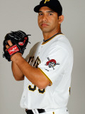 Pittsburgh Pirates Photo Day, BRADENTON, FL - FEBRUARY 20: Fernando Nieve Photographic Print by J. Meric
