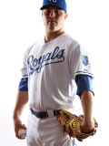 Kansas City Royals Photo Day, SURPRISE, AZ - FEBRUARY 23: Patrick Keating Photographic Print by Jonathan Ferrey