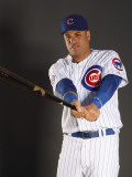 Chicago Cubs Photo Day, MESA, AZ - FEBRUARY 22: Aramis Ramirez Photographic Print by Ezra Shaw