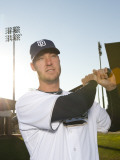 San Diego Padres Photo Day, PEORIA, AZ - FEBRUARY 23: Ryan Ludwick Photographic Print by Rob Tringali