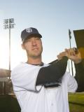 San Diego Padres Photo Day, PEORIA, AZ - FEBRUARY 23: Ryan Ludwick Photographic Print by Rob Tringali