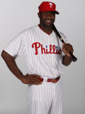 Philadelphia Phillies Photo Day, CLEARWATER, FL - FEBRUARY 22: Ryan Howard Photographic Print by Nick Laham