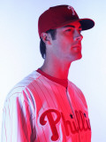 Philadelphia Phillies Photo Day, CLEARWATER, FL - FEBRUARY 22: Cole Hamels Photographic Print by Nick Laham