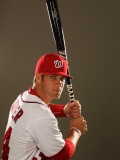 Washington Nationals Photo Day, VIERA, FL - FEBRUARY 25: Bryce Harper Photographic Print by Al Bello