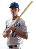 Kansas City Royals Photo Day, SURPRISE, AZ - FEBRUARY 23: Chris Getz Photographie par Jonathan Ferrey