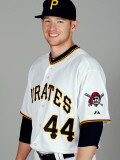 Pittsburgh Pirates Photo Day, BRADENTON, FL - FEBRUARY 20: Alex Presley Photographic Print by J. Meric