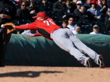 Cincinnati Reds v Cleveland Indians, GOODYEAR, AZ - FEBRUARY 27: Todd Frazier Photographic Print by Norm Hall