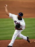 St. Louis Cardinals v New York Mets, PORT ST. LUCIE, FL - MARCH 03: Francisco Rodriguez Photographic Print by Marc Serota