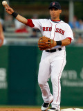 New York Yankees v Boston Red Sox, FORT MYERS, FL - MARCH 14: Marco Scutaro Photographic Print by J. Meric