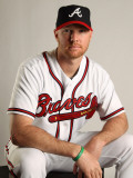Atlanta Braves Photo Day, LAKE BUENA VISTA, FL - FEBRUARY 21: Jonny Venters Photographic Print by Mike Ehrmann