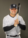 New York Yankees Photo Day, TAMPA, FL - FEBRUARY 23: Nick Swisher Photographic Print by Al Bello