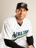 Florida Marlins Photo Day, JUPITER, FL - FEBRUARY 23: Joe Espada Photographic Print by Mike Ehrmann