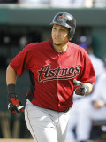 Houston Astros v Detroit Tigers, LAKELAND, FL - MARCH 02: Oswaldo Navarro Photographic Print by Leon Halip