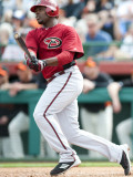Arizona Diamondbacks v San Francisco Giants, SCOTTSDALE, AZ - FEBRUARY 25: Justin Upton Photographie par Rob Tringali