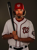 Washington Nationals Photo Day, VIERA, FL - FEBRUARY 25: Jayson Werth Fotografie-Druck von Al Bello