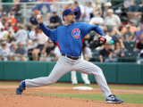 Chicago Cubs v San Francisco Giants, SCOTTSDALE, AZ - MARCH 01: Ryan Dempster Photographic Print by Christian Petersen