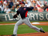 Minnesota Twins v Pittsburgh Pirates, BRADENTON, FL - MARCH 02: Brian Duensing Photographic Print by J. Meric