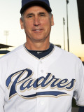 San Diego Padres Photo Day, PEORIA, AZ - FEBRUARY 23: Bud Black Photographic Print by Rob Tringali