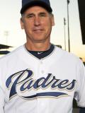 San Diego Padres Photo Day, PEORIA, AZ - FEBRUARY 23: Bud Black Photographic Print by Rob Tringali