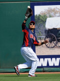 Seattle Mariners v Cleveland Indians, GOODYEAR, AZ - MARCH 11: Shin-Soo Choo Photographic Print by Norm Hall