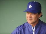 Los Angeles Dodgers v San Francisco Giants, SCOTTSDALE, AZ - FEBRUARY 26: Don Mattingly Photographic Print by Rob Tringali