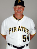 Pittsburgh Pirates Photo Day, BRADENTON, FL - FEBRUARY 20: Ray Searage Photographic Print by J. Meric