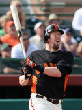 Chicago Cubs v San Francisco Giants, SCOTTSDALE, AZ - MARCH 01: Aubrey Huff Photographic Print by Christian Petersen
