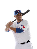 Texas Rangers Photo Day, SURPRISE, AZ - FEBRUARY 25: Kevin Cash Photographic Print by Jonathan Ferrey