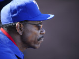 Kansas City Royals v Texas Rangers, SURPISE, AZ - FEBRUARY 27: Ron Washington Photographic Print by Rob Tringali