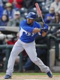 Kansas City Royals v Texas Rangers, SURPISE, AZ - FEBRUARY 27: Melky Cabrera Photographic Print by Rob Tringali