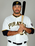Pittsburgh Pirates Photo Day, BRADENTON, FL - FEBRUARY 20: Pedro Alvarez Photographic Print by J. Meric