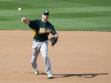 Oakland Athletics v San Diego Padres, PEORIA, AZ - MARCH 06: Kevin Kouzmanoff Photographic Print by Christian Petersen
