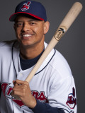 Cleveland Indians Photo Day, GOODYEAR, AZ - FEBRUARY 22: Orlando Cabrera Photographic Print by Rob Tringali