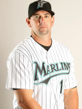 Florida Marlins Photo Day, JUPITER, FL - FEBRUARY 23: Brandon Hyde Photographic Print by Mike Ehrmann