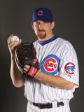 Chicago Cubs Photo Day, MESA, AZ - FEBRUARY 22: Ryan Dempster Photographic Print by Ezra Shaw