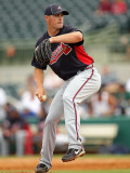 Atlanta Braves v Houston Astros, KISSIMMEE, FL - MARCH 01: Michael Broadway Photographic Print by Mike Ehrmann