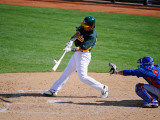 Oakland Athletics v Chicago Cubs, PHOENIX, AZ - MARCH 15: Hideki Matsui Photographic Print by Kevork Djansezian