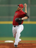 Atlanta Braves v Houston Astros, KISSIMMEE, FL - MARCH 01: Brett Meyers Photographic Print by Mike Ehrmann